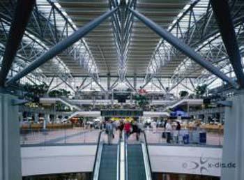 Architektur Aufnahme nach Fertigstellung des ersten Terminals.