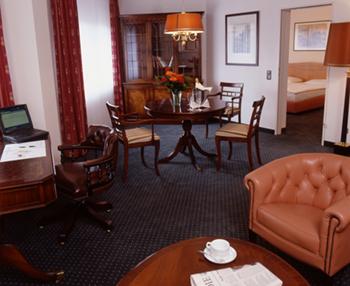 Architektur Aufnahme eines Zimmers im Panorama Hotel.